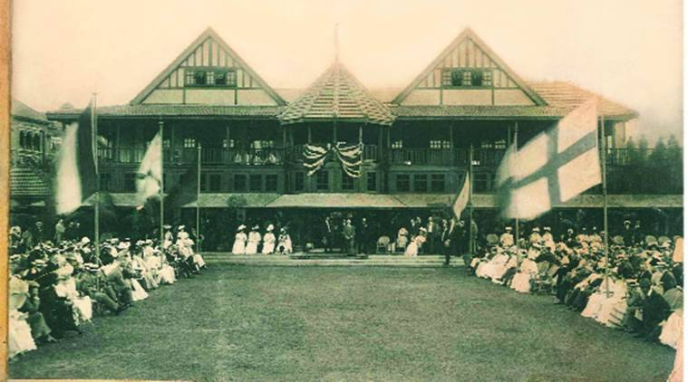 antiguo club de gincana de la India