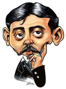 Marcel Proust cita paisajes gincanas aire libre